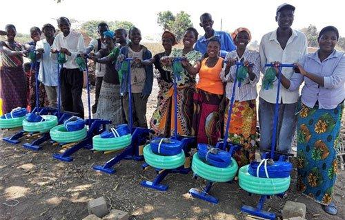 Treadle Pumps in Zambia