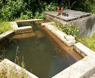 Nepal Water Source Before