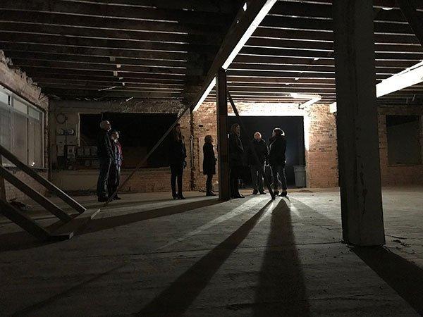 OI headquarters office basement