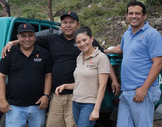 Outreach Nicaragua team staff photo