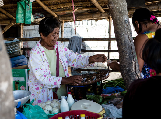 Philippines - woman working in small business