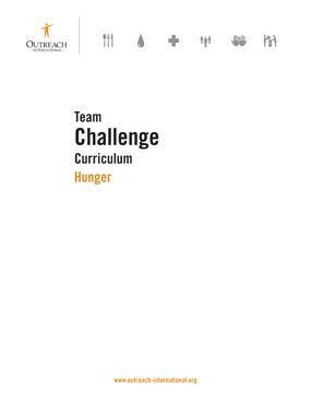 Team Challenge | Download Resource | Hunger | Outreach International