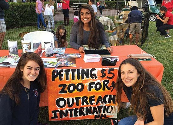 Youth Volunteers Run a Petting Zoo Fundraiser | Outreach International