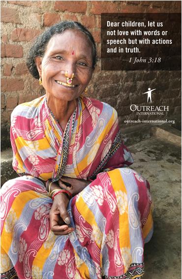Congregational Poster | Faith Communities | Outreach International