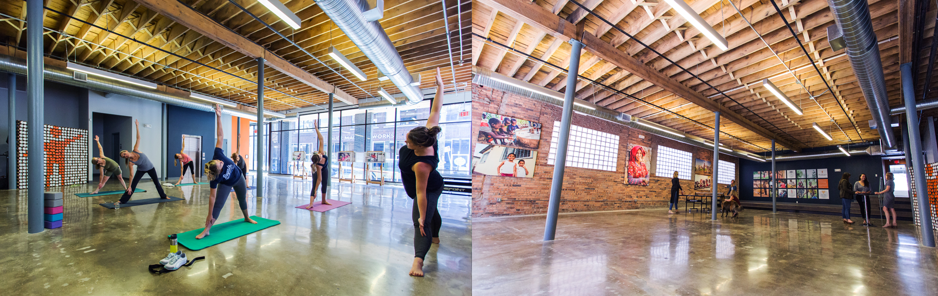 Yoga Class | Rent the Room | Outreach Event Space
