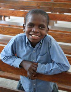 Happy Haitian Student