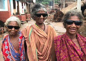 India women with sunglasses