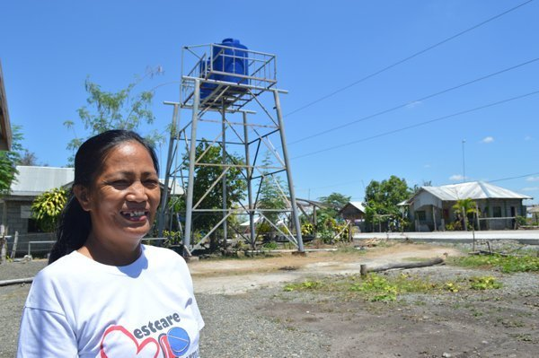 Philippines Water Project, Water Tower