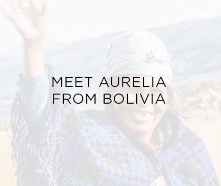 Meet Aurelia from Bolivia