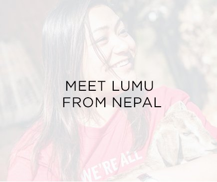 Meet Lumu from Nepal