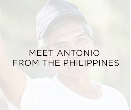 Meet Antonio from the Philippines