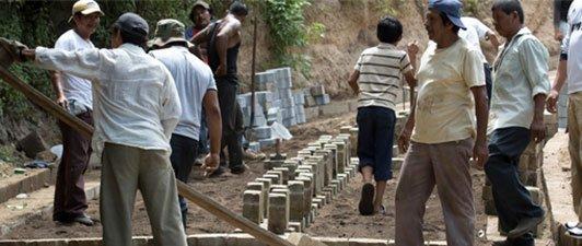 Housing - building in Nicaragua