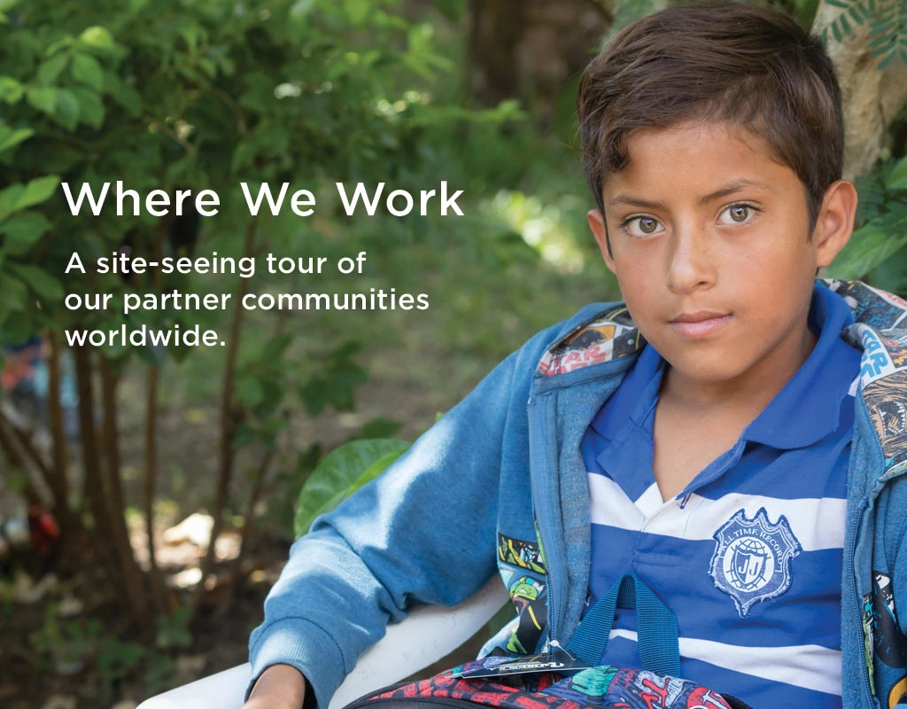 Where We Work | Outreach International
