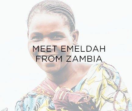 Meet Emeldah from Zambia