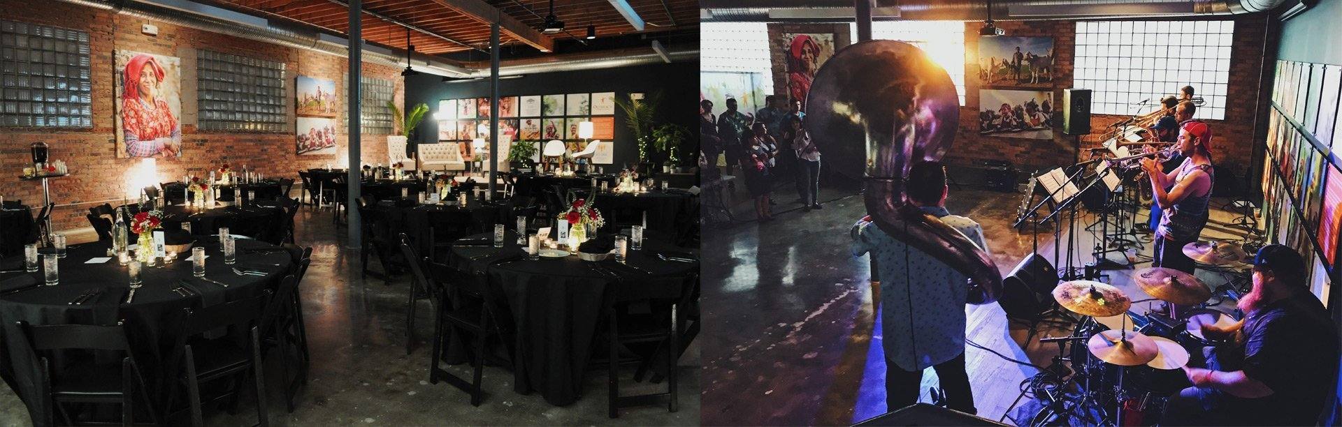 outreach event space | gala dinner | concert