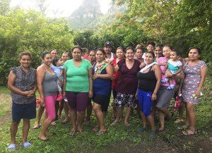 Women involved in the low-interest community-managed loan program in La Leona, Nicaragua