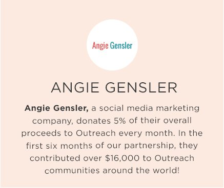 Angie Gensler | Outreach Corporate Partner