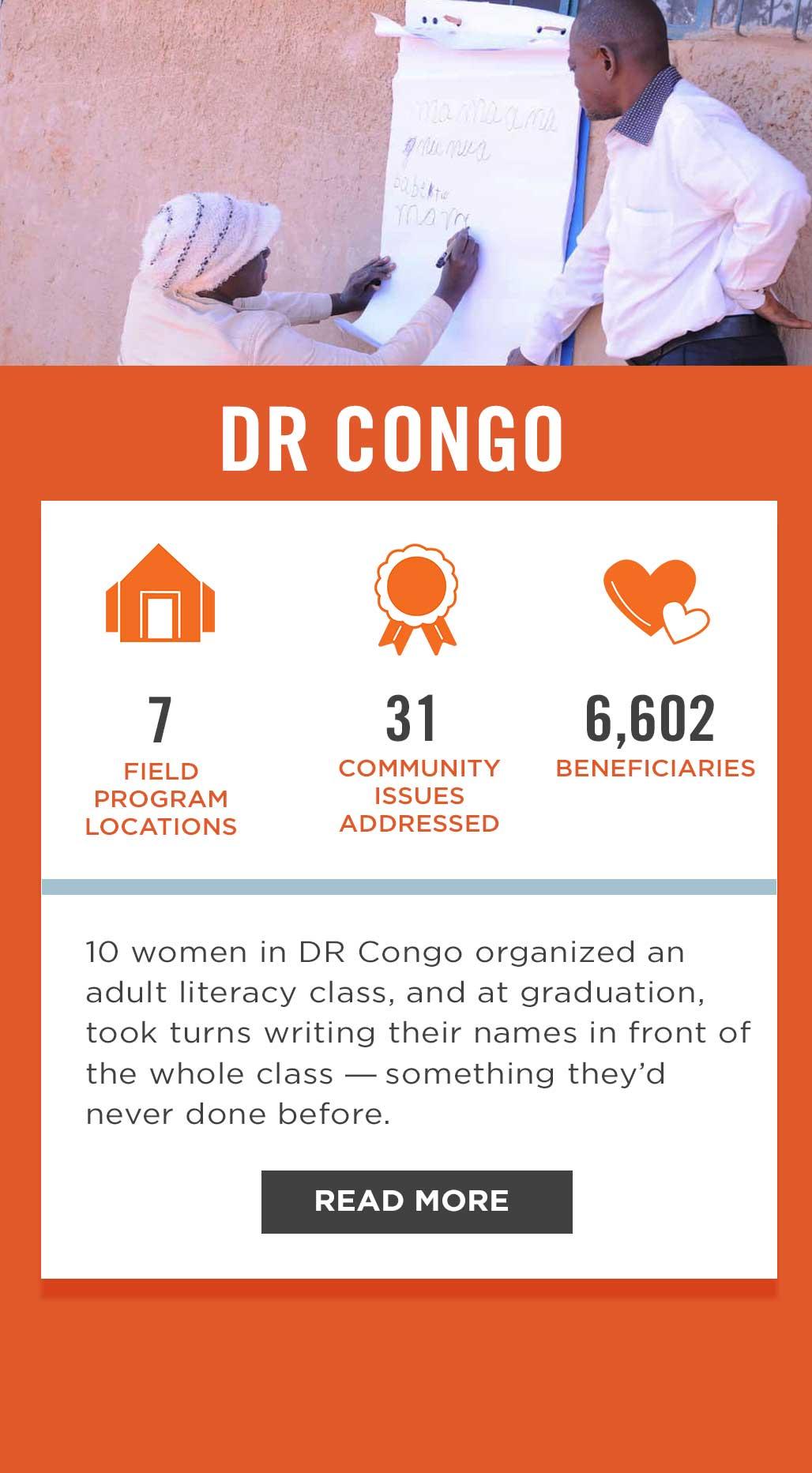 DR Congo Field Program