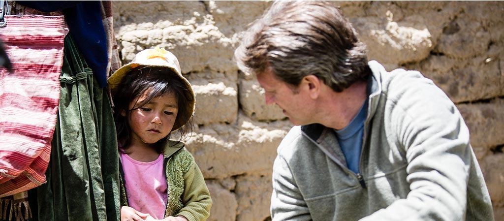 Kevin Prine, President visiting Bolivia Field Progra,m
