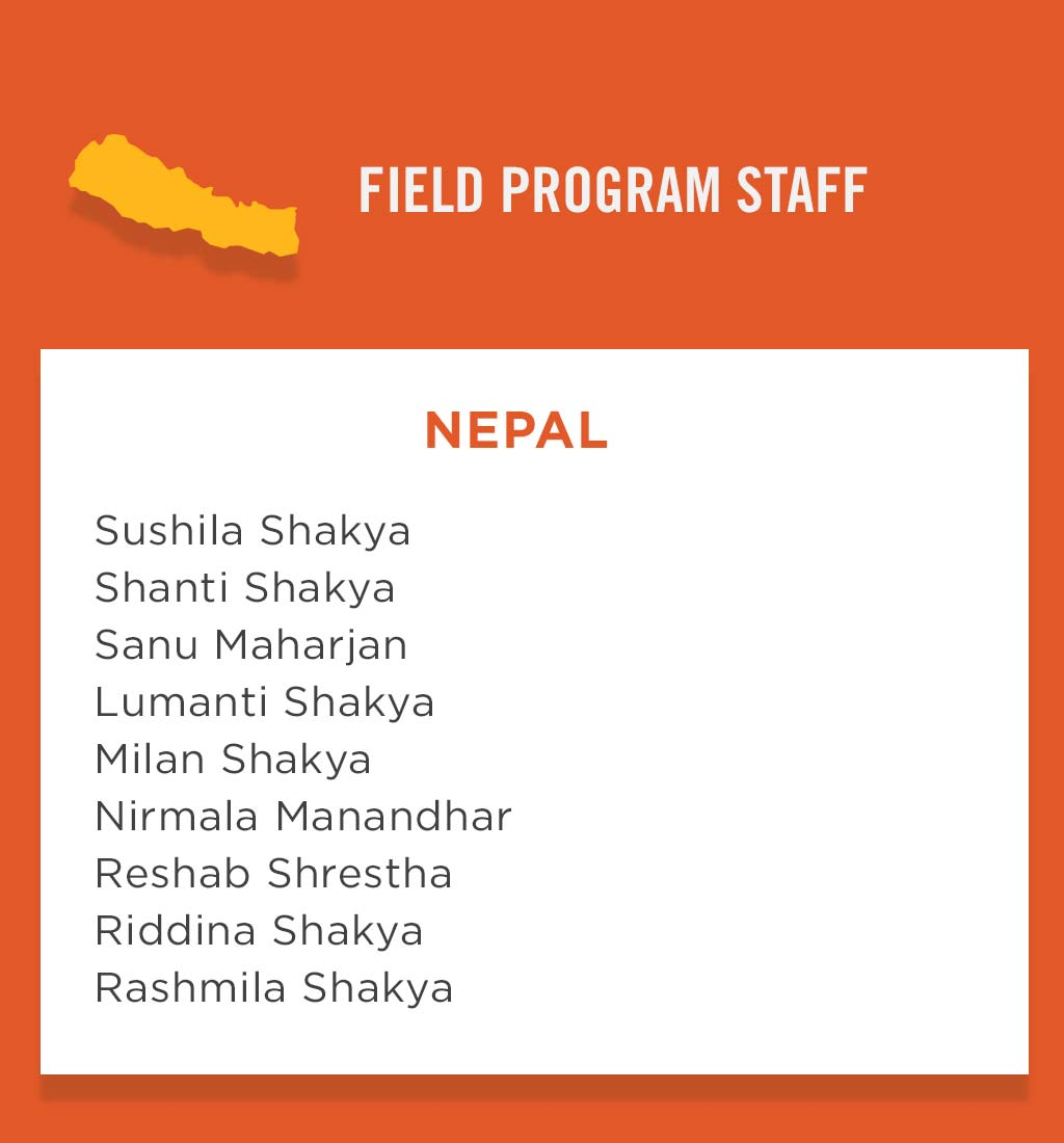 Nepal Field Program Staff