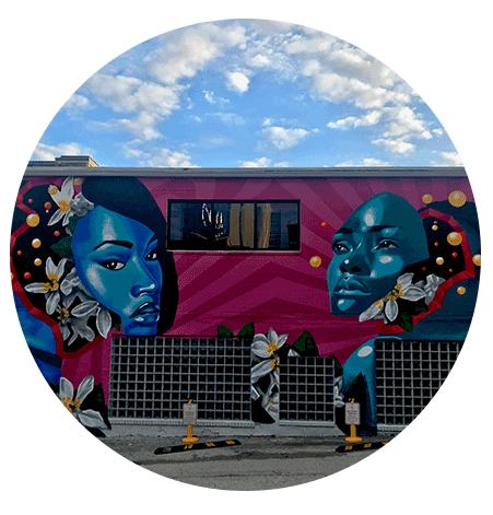 Zulu Painter | Outreach Mural