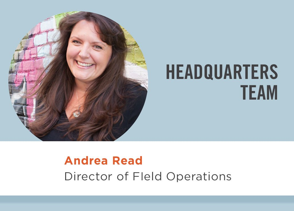 Andrea Read, Director of Field Operations