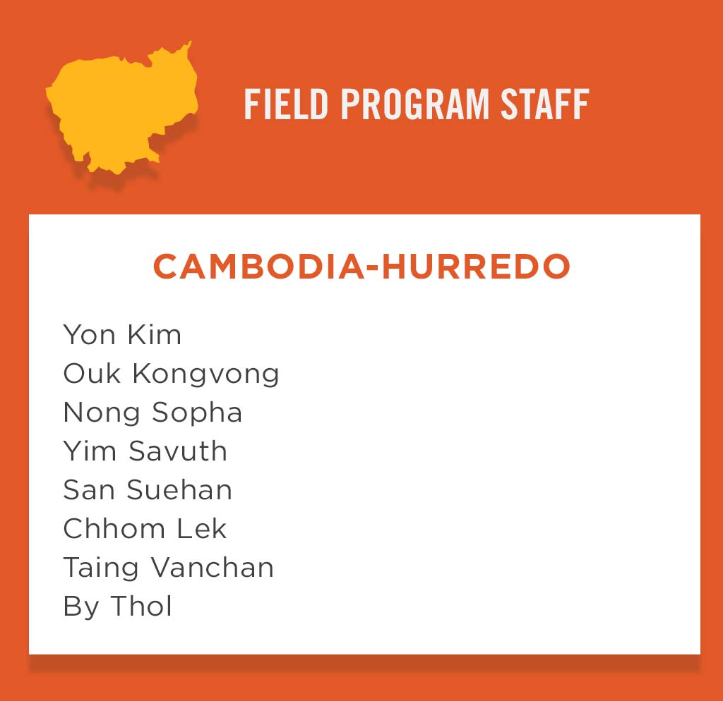 Cambidia-Hurredo Field Program Staff