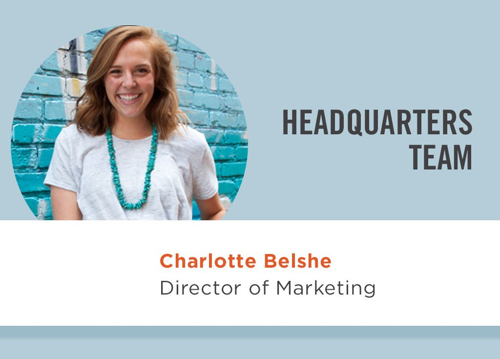 Charlotte Belshe, Director of Marketing