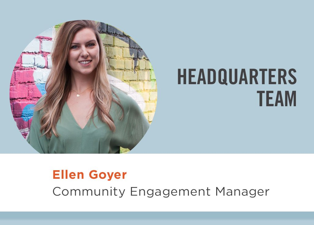Ellen Goyer, Community Engagement Manager