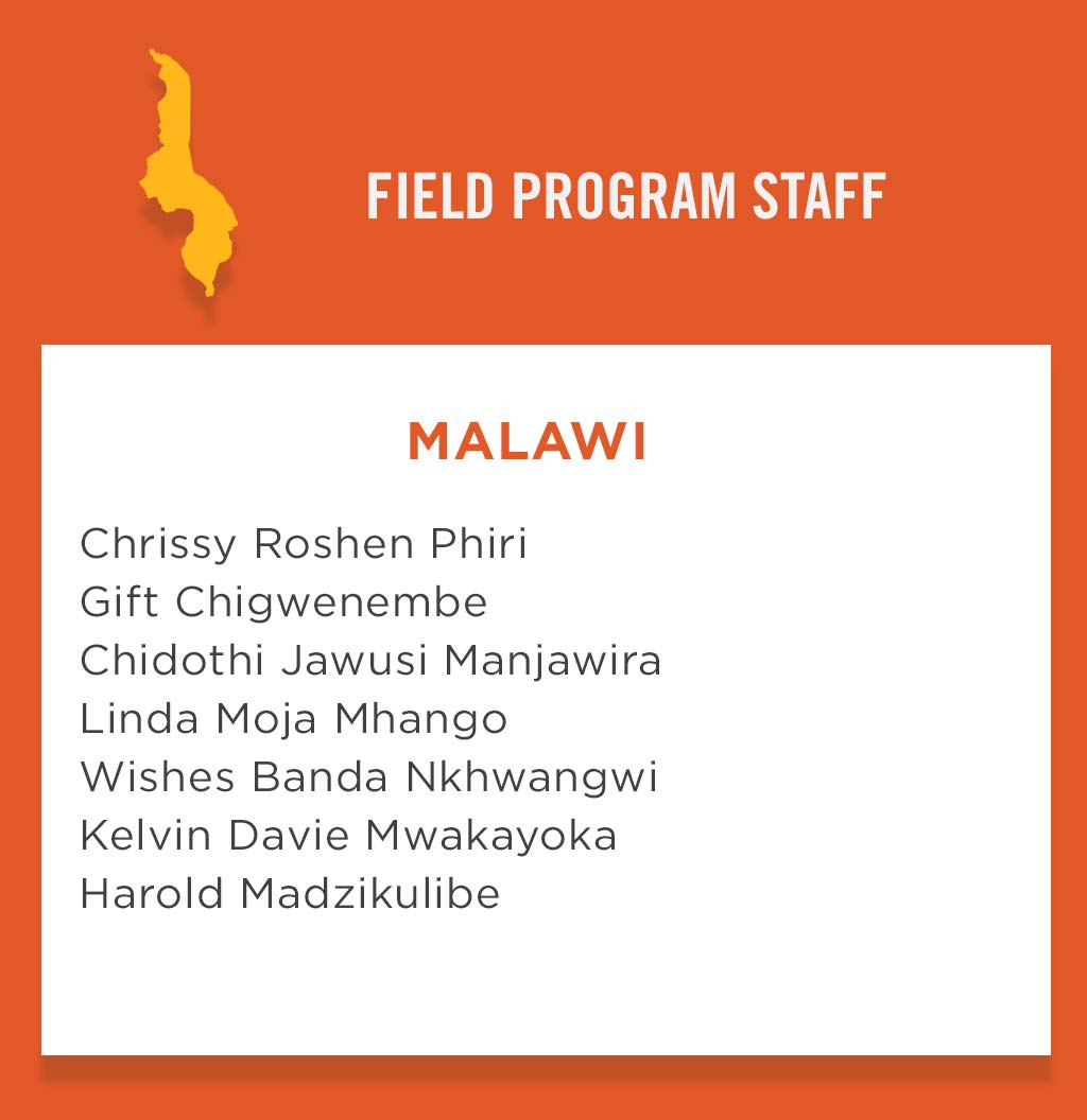 Malawi Field Program Staff
