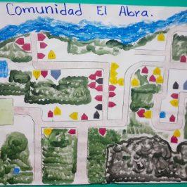 El Abra Community Hand-Drawn Map