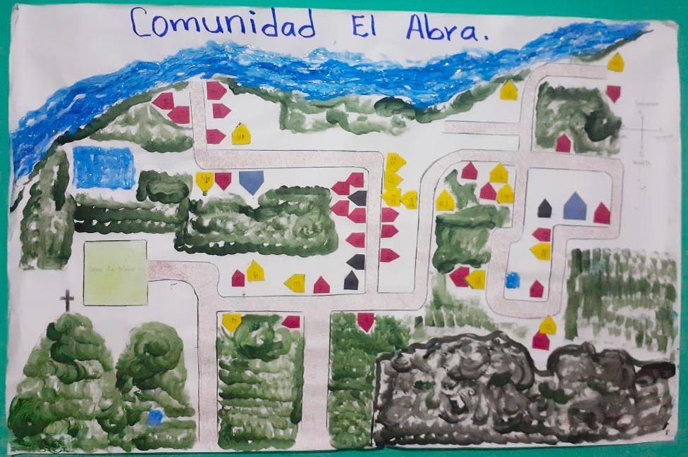 El Abra Community Hand-Drawn Map