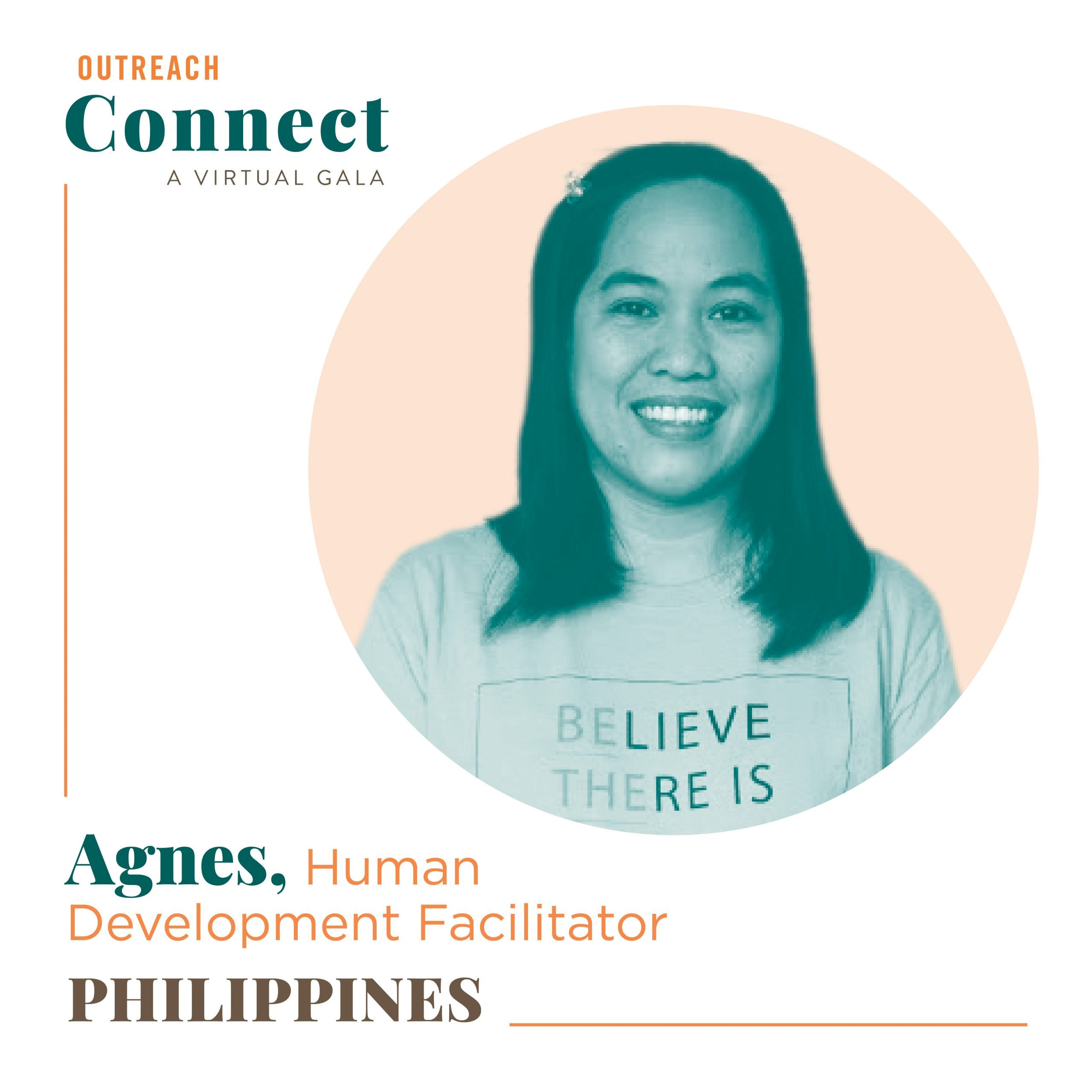Agnes, an Outreach HDF from the Philippines
