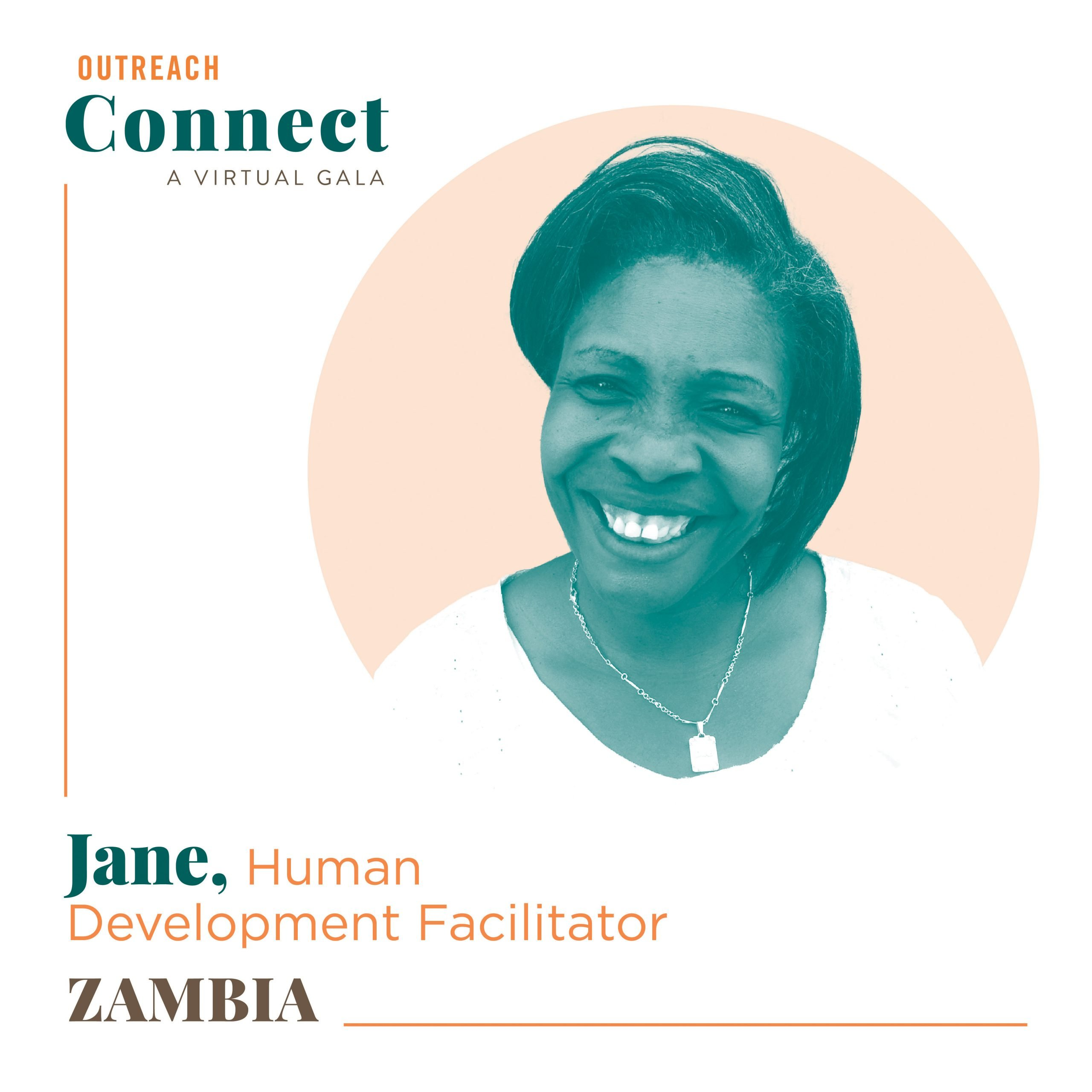 Jane, an Outreach HDF from Zambia