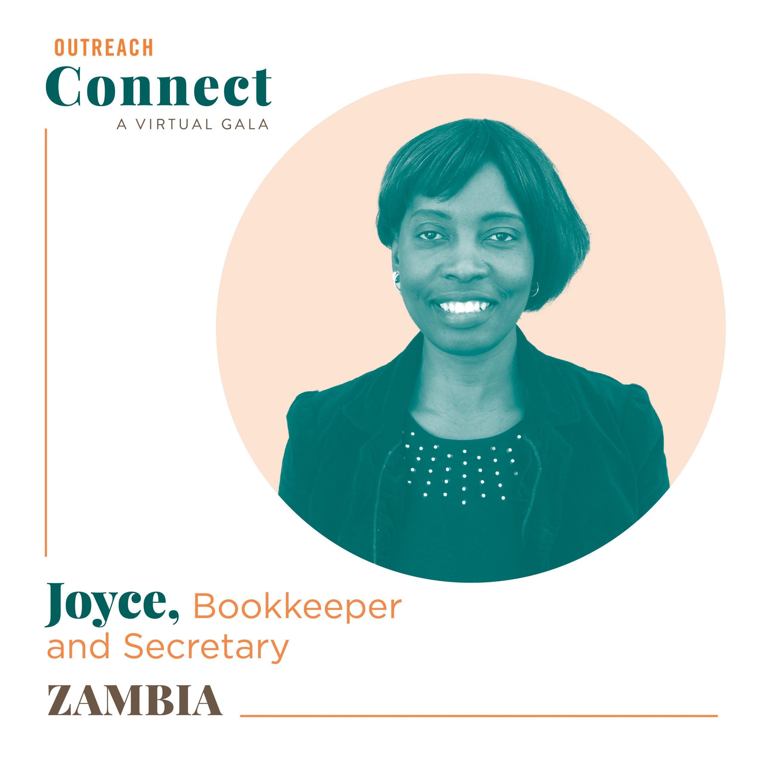Joyce, an Outreach HDF from Zambia