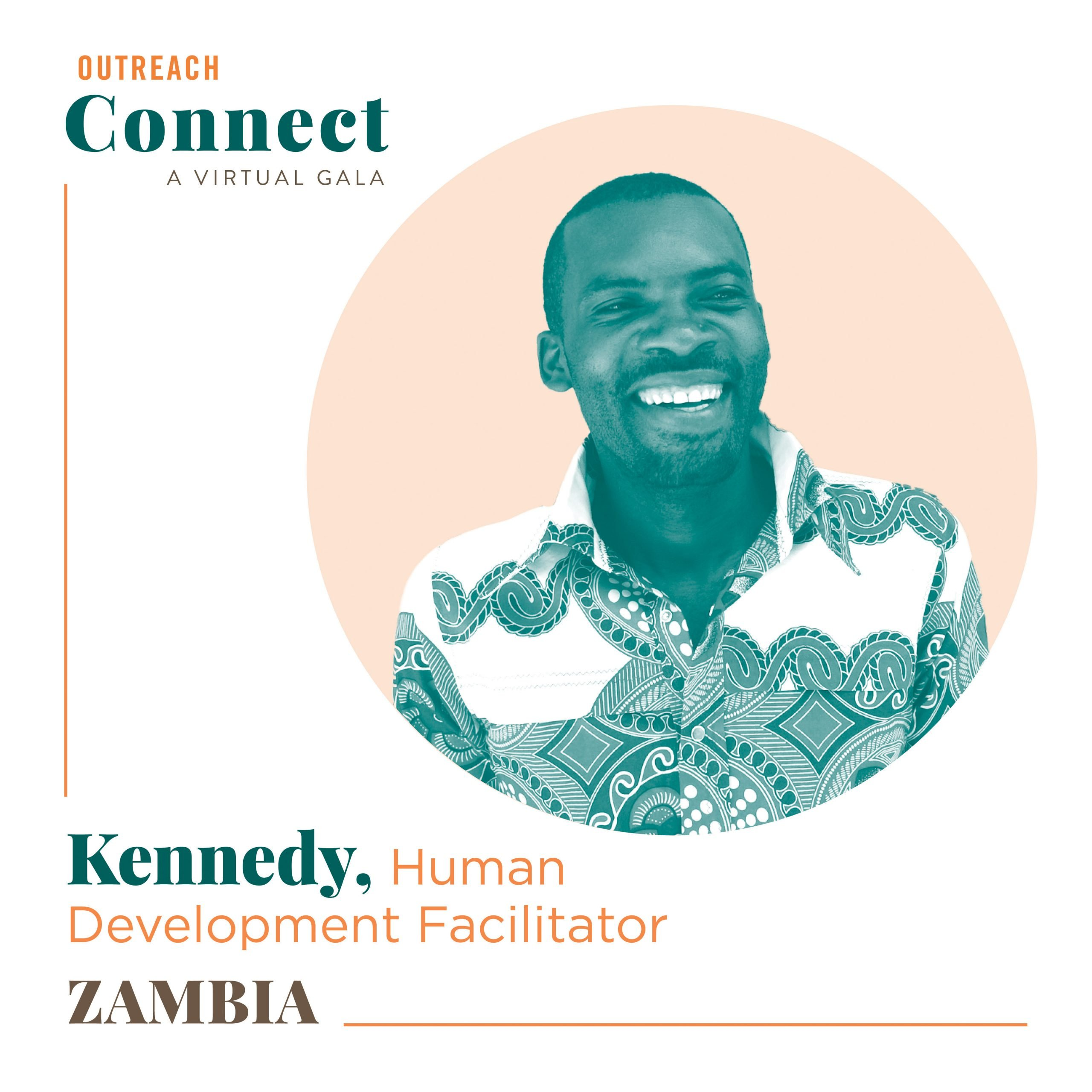 Kennedy, an Outreach HDF from Zambia