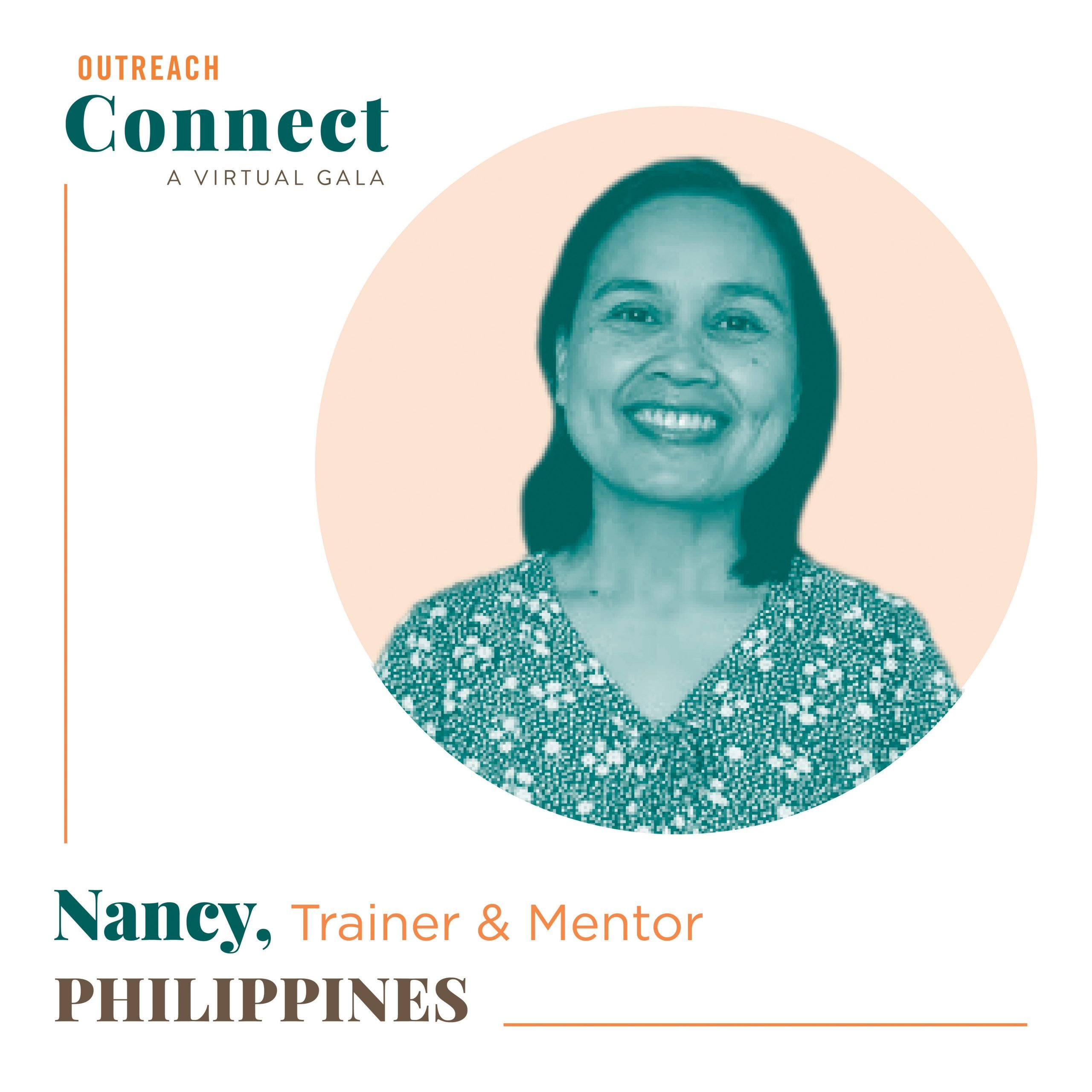 Nancy, an Outreach HDF from the Philippines