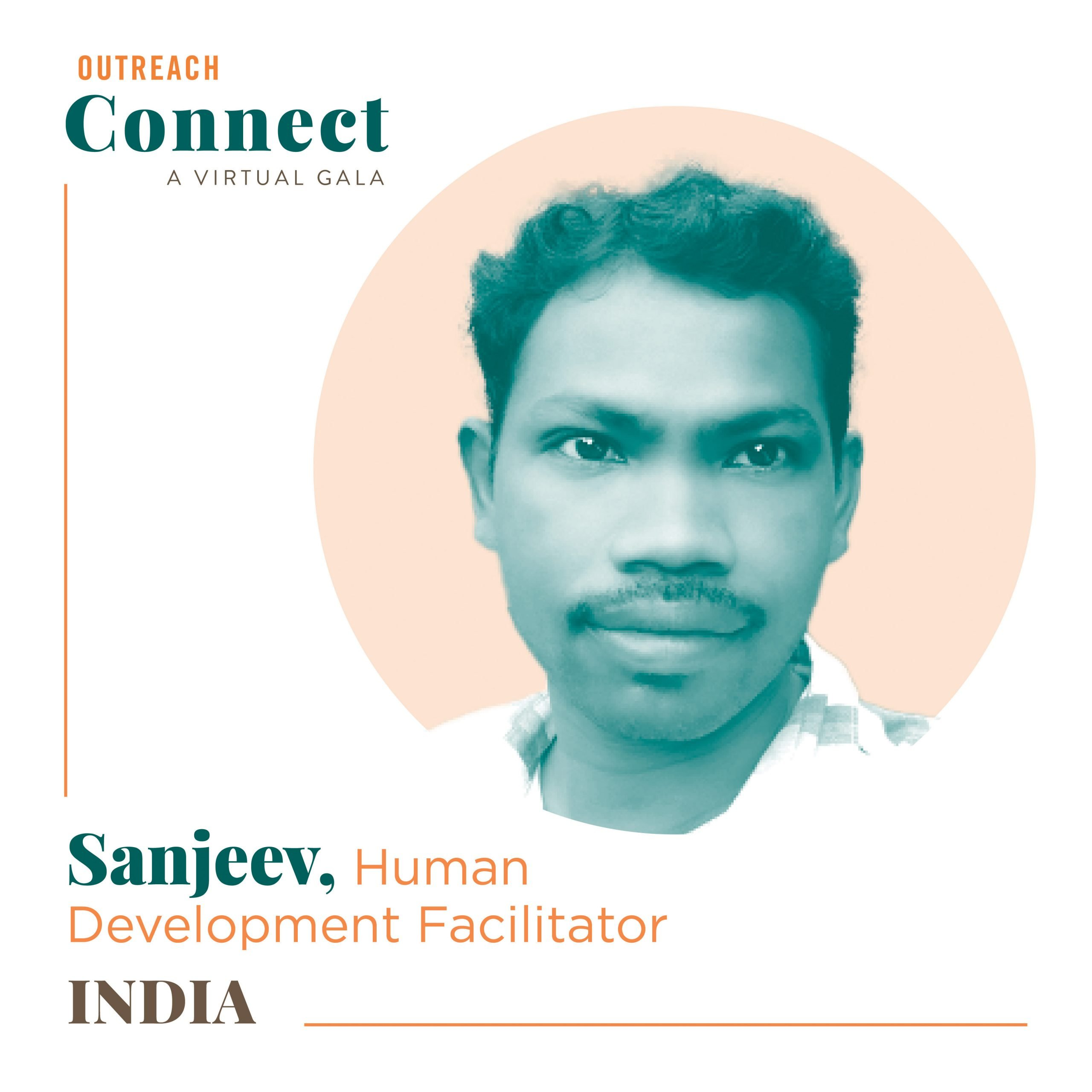 Sanjeev, an Outreach HDF from Nepal