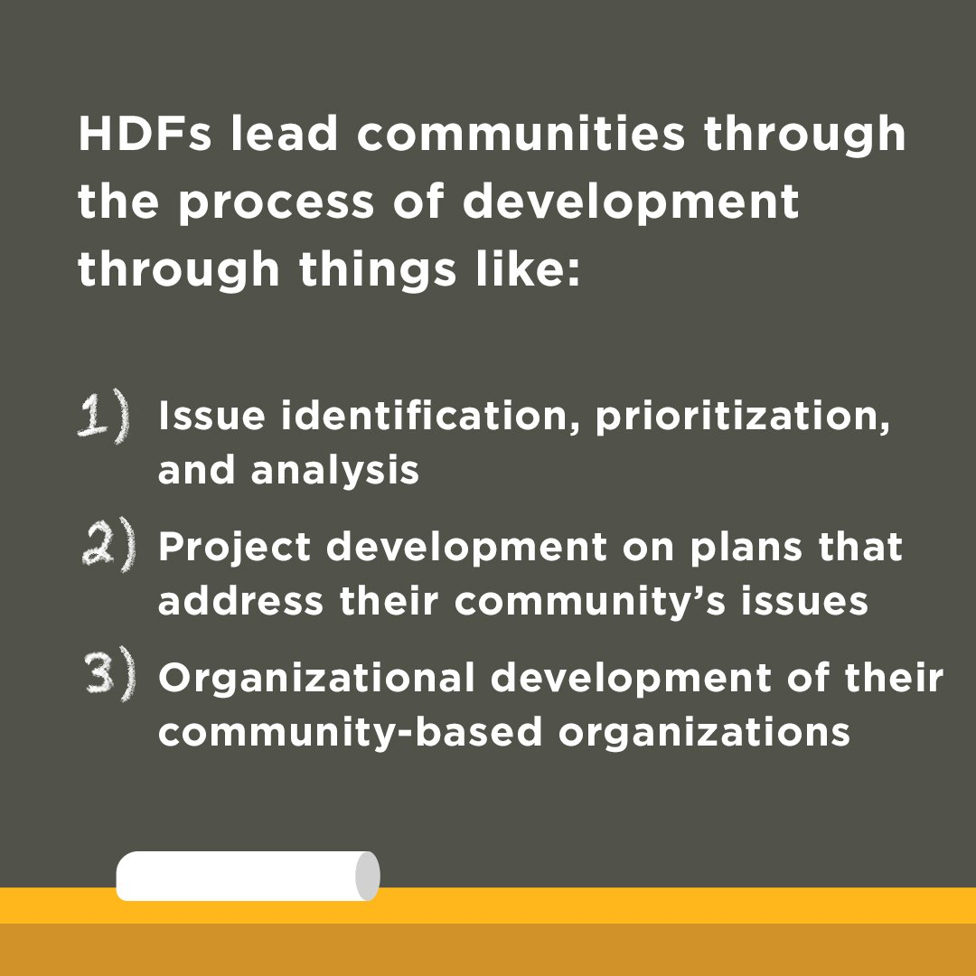 5 HDFs Lead Communities