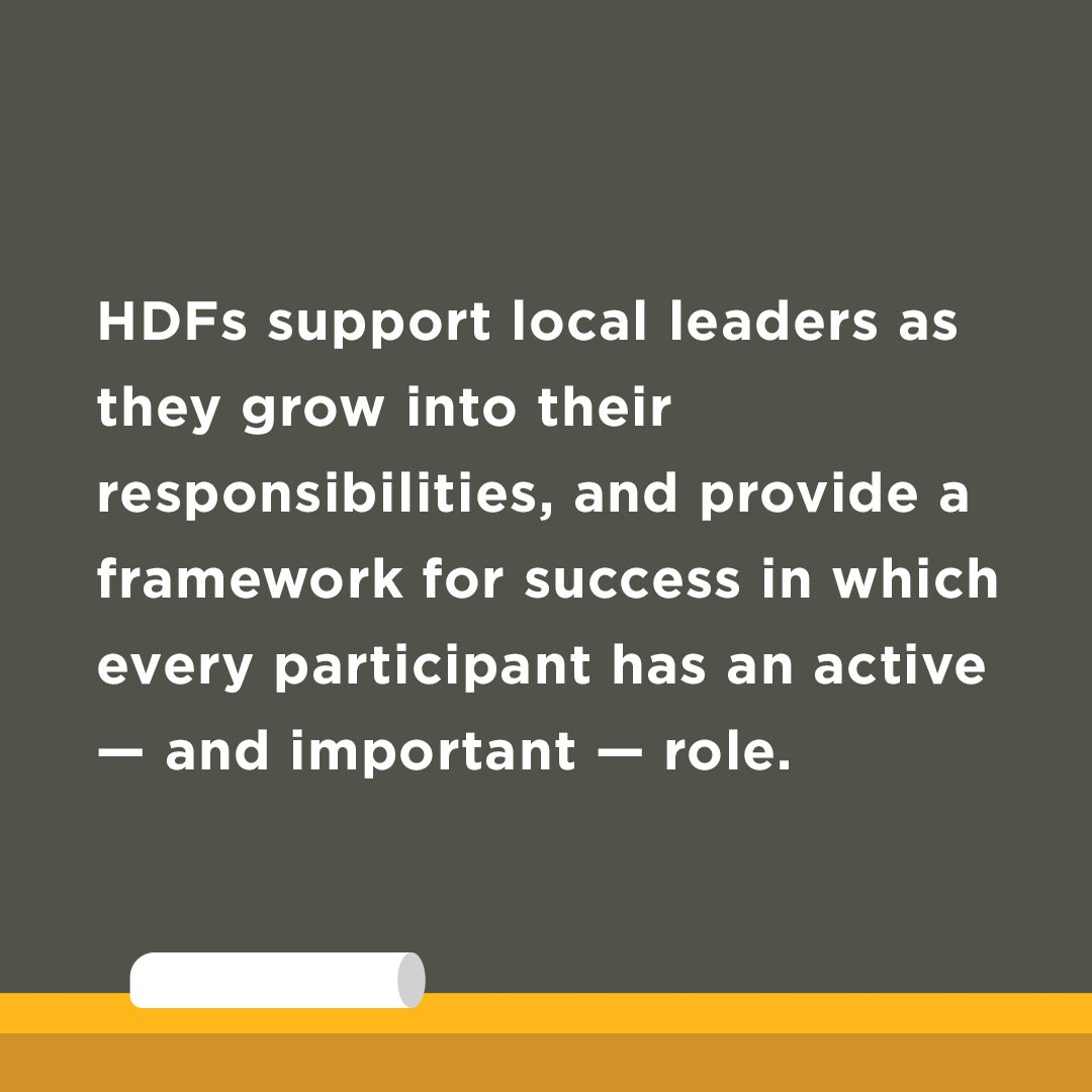 6 HDFs Support Local Leaders