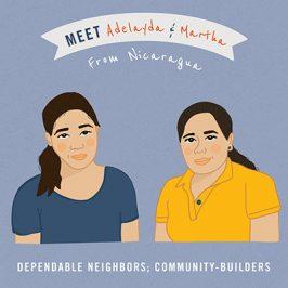 Meet Adeleyda and Martha from Nicaragua