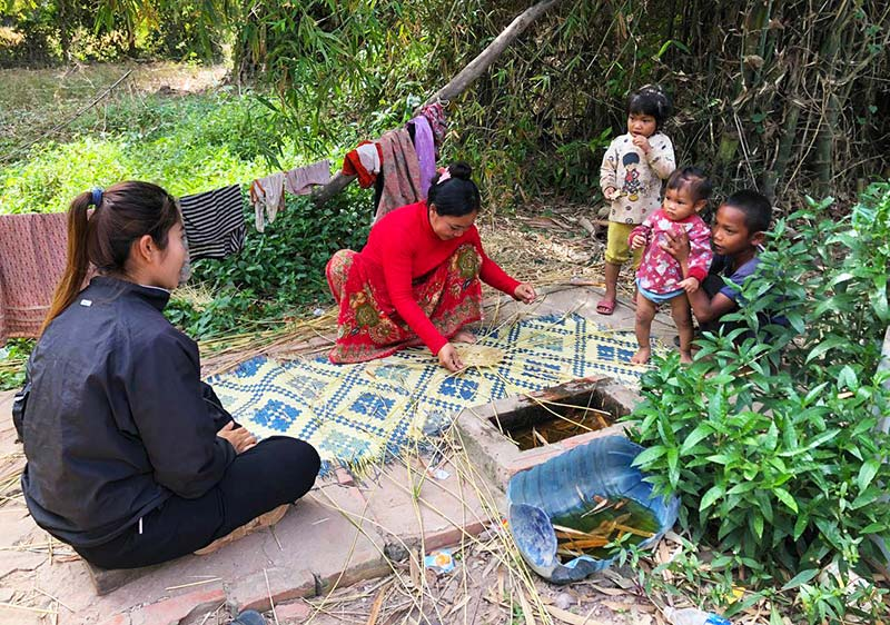 HDF in Cambodia meets with family
