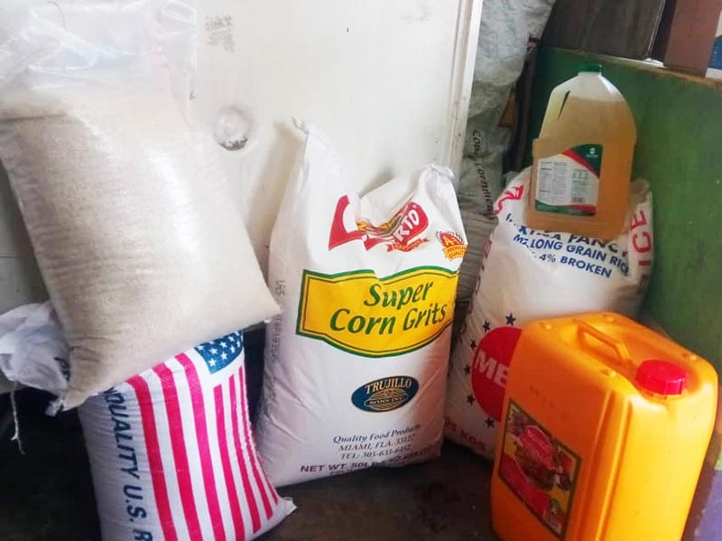 Meal kit supplies for Haiti School