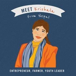 Meet Krishala from Nepal