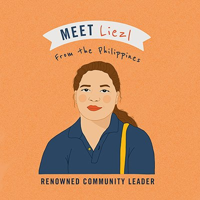 Meet Liezl from the Philippines