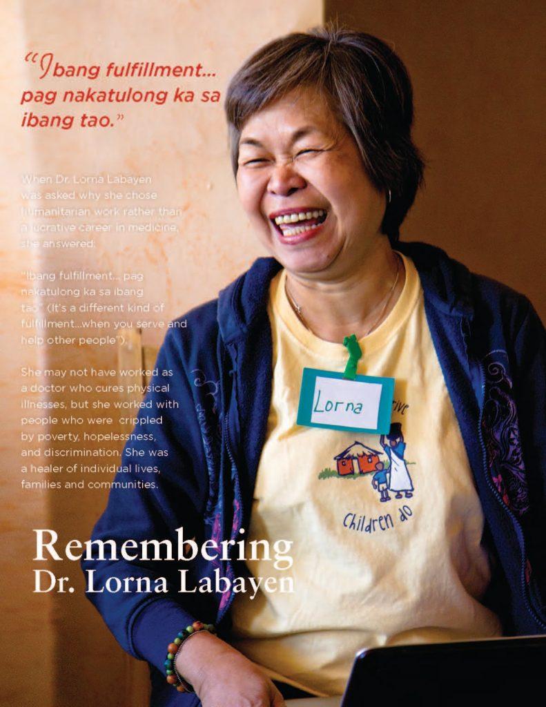 Remembering Lorna Labayen