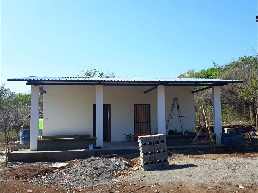 Nicaragua Medical Post Construction Completed
