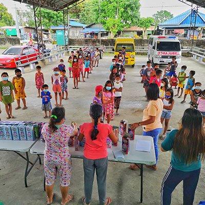 Philippines-oral-health-distribution