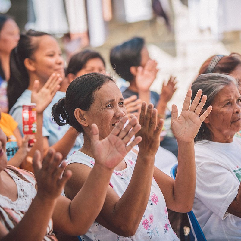 Women Celebrating in the Philippines