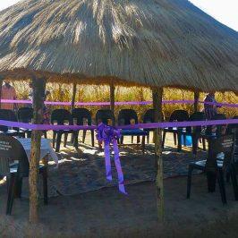 Kayowelo, Zambia Multi-purpose center opening